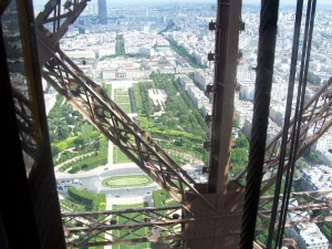 Chaillot - Tour Eiffel - Structure