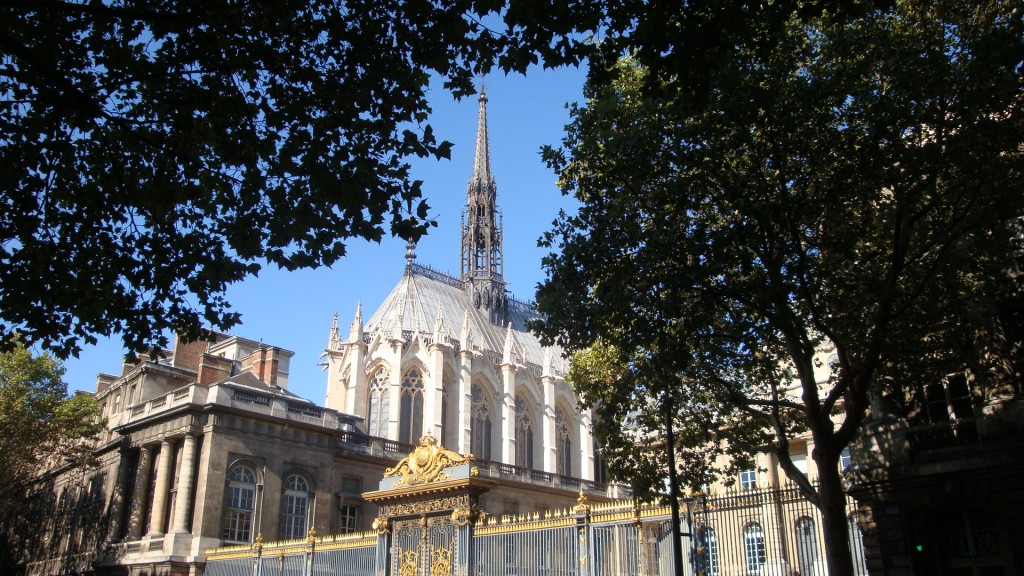 Visite Sainte Chapelle - DSC02383 - Sainte Chapelle