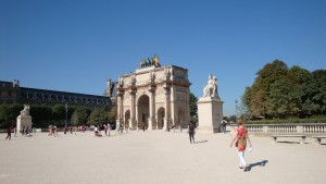 Carrousel du Louvre - Arc de Triomphe