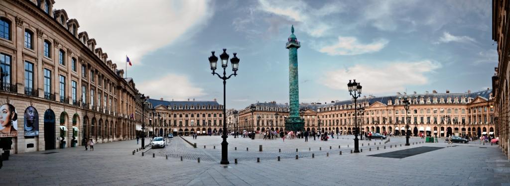 Jardins des Tuileries - Place Vendôme