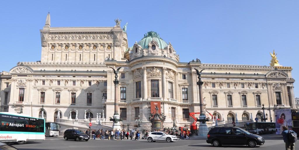 Visite Opéra Garnier - Façade Ouest