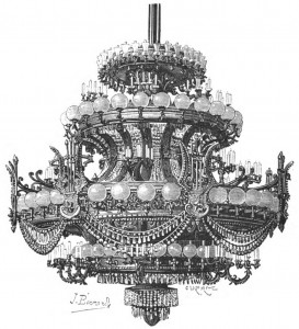 Fragonard Paris - Grand lustre Opéra Garnier