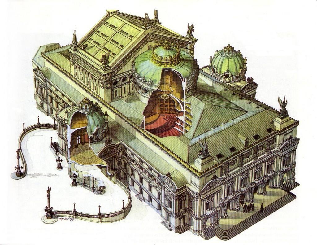 Fragonard Paris - Maquette Opéra Garnier