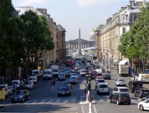 Fragonard Paris - Rue Royale - Vue vers Concorde et Assemblée Nationale