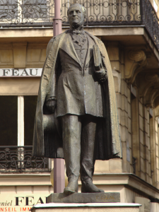Fragonard Paris - Statue du Baron Haussmann