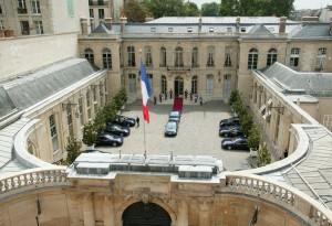 Hôtel Matignon - Cour entrée