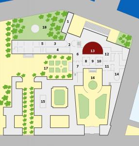 Palais Bourbon - Plan