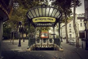 Pigalle - Entrée métro
