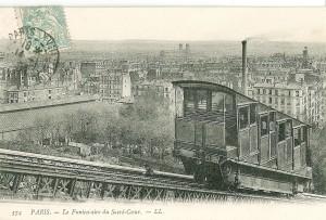 Sacré-Coeur - Funiculaire en 1900