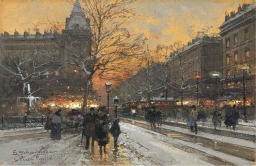 Pigalle - Place Pigalle en 1900
