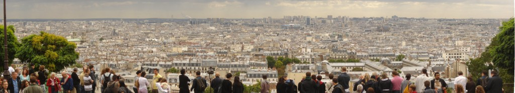 View_Panoramique_from_Sacré-Cœur Par Neo007 [CC BY 3.0 (httpcreativecommons.org licenses by 3.0 ], via Wikimedia Commons