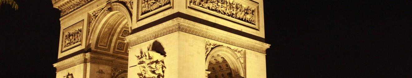 Illumination Arc de Triomphe - Paris