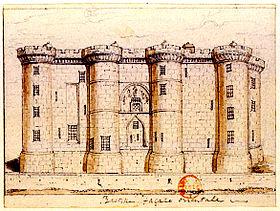 Place de la Bastille - Bastille extérieur_1790_or_1791