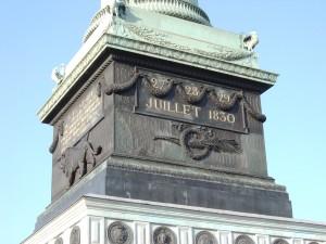 Place de la Bastille - Colonne de Juillet - Socle
