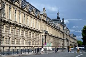 Musée Louvre - Façade Sud