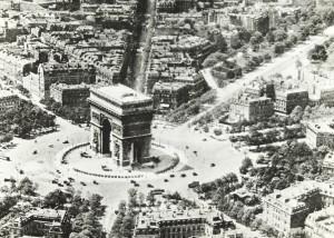 Avenue George V - Place de l'Etoile en 1900