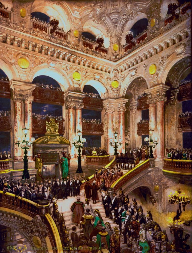Fragonard Paris - Inauguration 1875