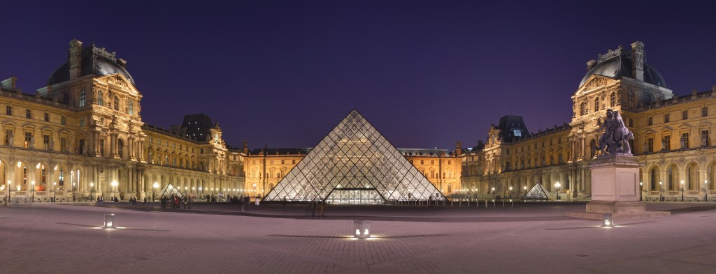 Visite Louvre - Pyramide
