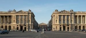 Palais Bourbon - Vue Rue_Royale de Concorde