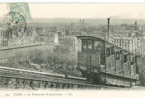 Pigalle - Funiculaire en 1900